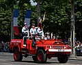 Fire brigades Bastille Day 2013 Paris t114630.jpg