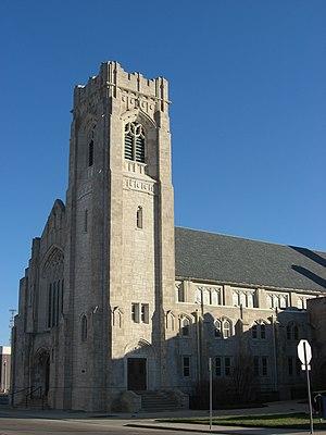 First Baptist Church (Muncie, Indiana) - Image: First Baptist Church in Muncie