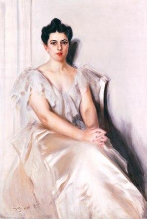 Frances Folsom Cleveland Preston - Anders Zorn, Frances Cleveland, 1899