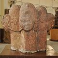 Five-faced Shiva Linga - Sapta Samudra Koop Museum - ACCN 15-516 - Government Museum - Mathura 2013-02-23 5436.JPG