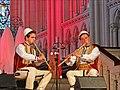 """Flûtes Kavall des bergers de Macédoine dans lAbbatiale de Saint-Florent-le-Vieil, Concert """"Chant et flûtes des bergers"""", Festival Les Orientales (Saint-Florent-Le-Vieil).jpg"""