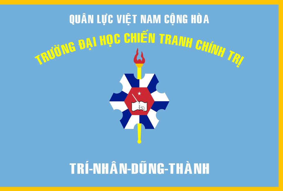 Flag of South Vietnamese Polwar College