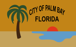 Flag of the City of Palm Bay, Florida.png