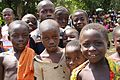 Flickr - DFID - UK Department for International Development - Children pictured at a UNHCR food distribution point in Liberia.jpg