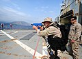 Flickr - Official U.S. Navy Imagery - A boarding team member practices small-arms tactics..jpg