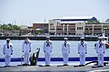 Flickr - Official U.S. Navy Imagery - Sailors assigned to USS Mississippi man the ship during the commissioning ceremony for the Navy's ninth Virginia-class attack submarine. (2).jpg