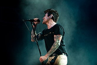 Davey Havok - Davey Havok performing live in 2009