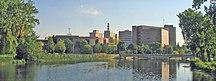 Michigan-Large cities, townships, and metropolitan areas-Flint skyline2
