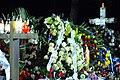 Flowers Cover the Gravesite of Former Polish Prime Minister Mazowiecki (10680021913).jpg