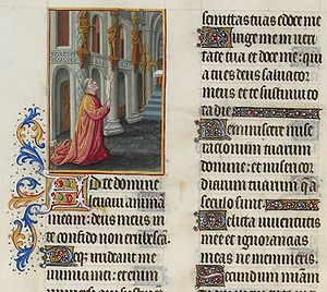 Folio 91v - Psalm XXIV