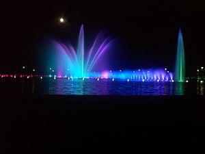 Wrocław Fountain - Image: Fontaine Breslau 03