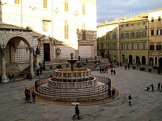 Fontana Maggiore - Detail.