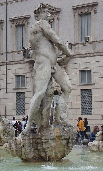 Image:Fontana del Moro central statue.jpg