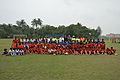 Football Workshop Participants with Dignitaries - Sagar Sangha Stadium - Baruipur - South 24 Parganas 2016-02-14 1226.JPG