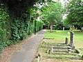 Footpath, St Mary's Churchyard, Eaton Socon - geograph.org.uk - 1372083.jpg