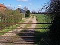 Footpath beside Gainshill Farm - geograph.org.uk - 1231700.jpg