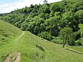 Footpath round the hillside - geograph.org.uk - 1406753.jpg