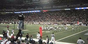 MAC Football Championship Game - Image: Ford Field MAC2006