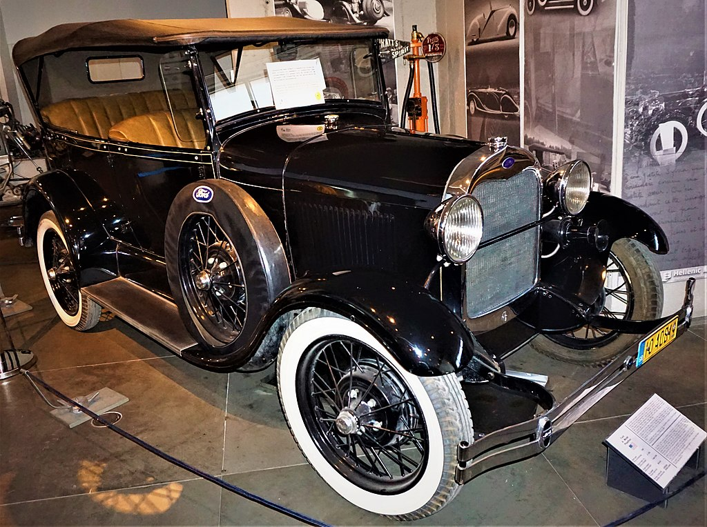 Ford Model A - Hellenic Motor Museum, Athens - Joy of Museum