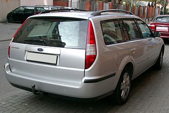 Ford Mondeo (second generation) - Estate (pre-facelift)