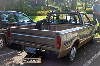 Ford Pampa - 1992-1997 Ford Pampa 1.6-liter (alcohol-fueled)