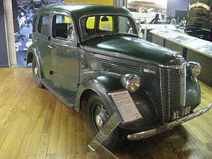 Ford Prefect - Ford Prefect A53A 4 door Saloon
