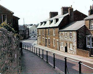 Fordington, Dorset - Fordington High Street in 1976