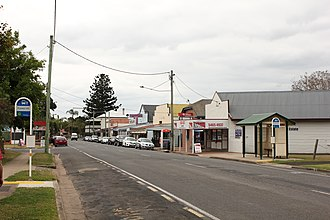 Forest Hill, Queensland - Forest Hill main street