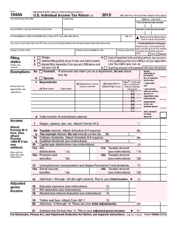 Fileform 1040a 2015pdf Wikimedia Commons