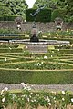 Formal garden at Glamis Castle - geograph.org.uk - 559317.jpg
