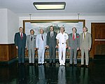 Former chiefs of naval operations gather for a group photograph.jpg
