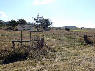 West Haldon, Queensland Suburb of Lockyer Valley Region, Queensland, Australia