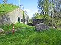 Fort de Gagel Bomvrij Wachthuis en Kazerne.JPG