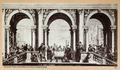 """Fotografi av """"Gästabudet i Levis hus"""" av Paolo Veronese - Hallwylska museet - 103018.tif"""