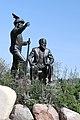 Founders - John Lake and Chief Whitecap, Saskatoon (505732) (25555061944).jpg