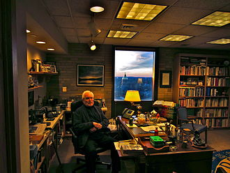Theodore Hesburgh - Hesburgh in his office at Notre Dame