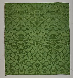 Fragment of damask with marriage emblems MET DP152960.jpg
