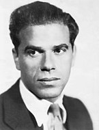 Portrait photograph of Frank Capra.