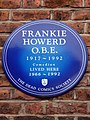 Frankie Howerd OBE 1917-1992 lived here 1966-1992.jpg