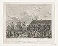 Franse troepen trekken Breda binnen, 1793 Het intrekken der Franschen binnen Breda (titel op object), RP-P-OB-22.496.jpg
