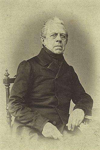 Franz Berwald - Franz Berwald, c. 1860