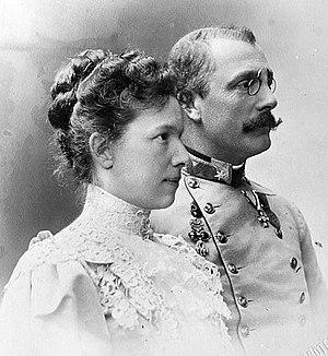 Archduchess Marie Valerie of Austria - Franz Salvator and Marie Valerie