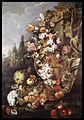 Franz Werner von Tamm - Still Life of Flowers and Fruits in a Garden - Walters 371674.jpg