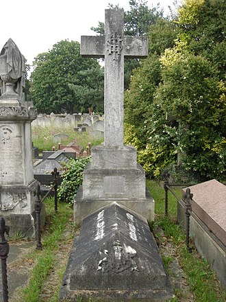 Frederic Thesiger, 1st Baron Chelmsford - Funerary monument, Brompton Cemetery, London