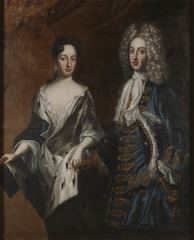 Frederick IV (1671-1702), Duke of Holstein-Gottorp, and his spouse Hedvig Sophia (1681–1708), Swedish princess