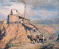 Frederick McCubbin - The old stone crusher (The quarry) - Google Art Project.jpg