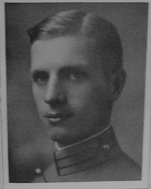 Frederick Walker Castle - West Point Yearbook photo