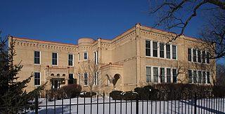 Fredrika Bremer Intermediate School building in Minneapolis, Minnesota, United States