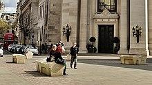 Freemasons' Hall, London - Camden benches.jpg