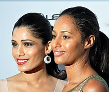 Freida Pinto (left) and Rula Jebreal (right)